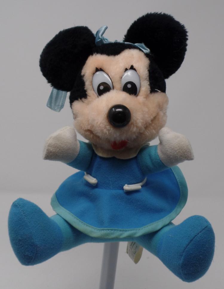 Mickeys Christmas Carol Minnie.Vintage 8 Mickey S Christmas Carol Minnie Mouse In Blue Dress