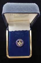 Vintage Free Masons 25 Year Member Pin - Gold Toned  - See Photos For Details