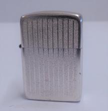 Vintage Stormking Cigarette Lighter in Platinum Tone  Made in Murfreesboro, TN