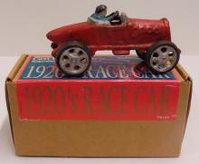 Cast Iron Reproduction of 1920s Racecar - Made by Quaest - Measures 5