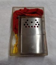 Vintage Jon-e Hand Warmer - In Original Box with Carry Bad - Made by Aladin Inc. - Does not appear to be used