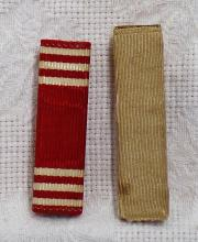 Vintage Lot of 2 US Army Good Conduct and Blank Service Medal from WWII