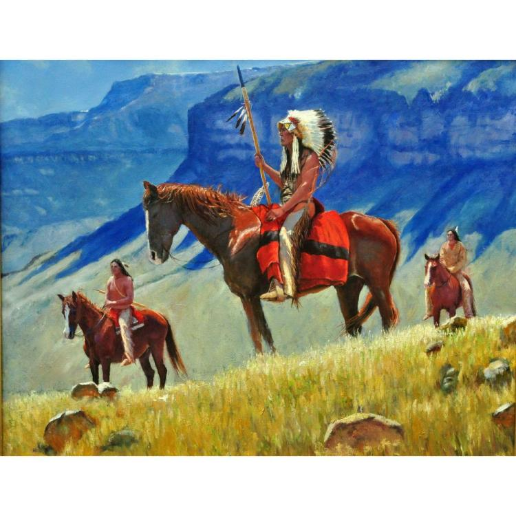 Summer In The High Country, by John C. Gawne