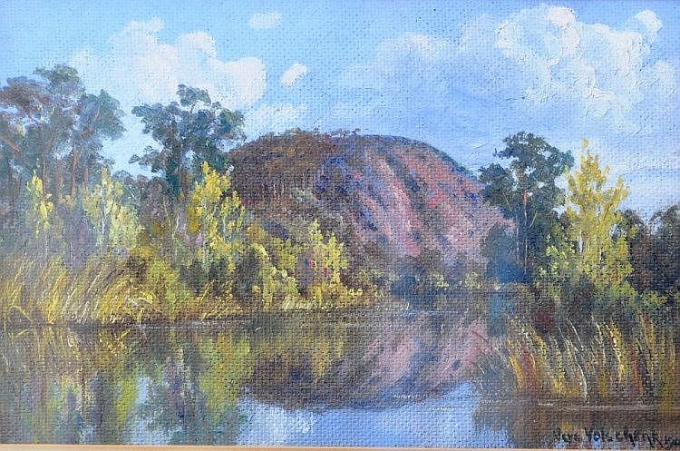 VOLSCHENK, VERA - SOUTH AFRICAN (1899 - 1987) Oil
