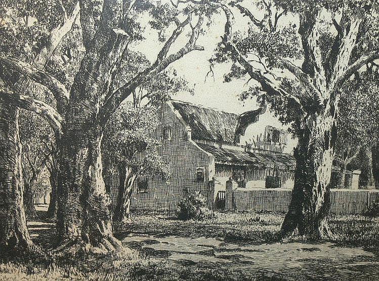 VAN DER MERWE, CHARLES - SOUTH AFRICAN (1938 -