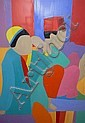 COLEMAN, TREVOR - SOUTH AFRICAN (1931-) Oil on, Trevor Coleman, Click for value