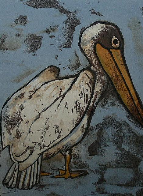 SCHIMMEL, FRED - SOUTH AFRICAN (1928-) Lithograph