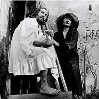 Padhi Frieberger (* 1928), › Ironisches Doppelporträt ‹ (Padhi Frieberger & Maria Lassnig)