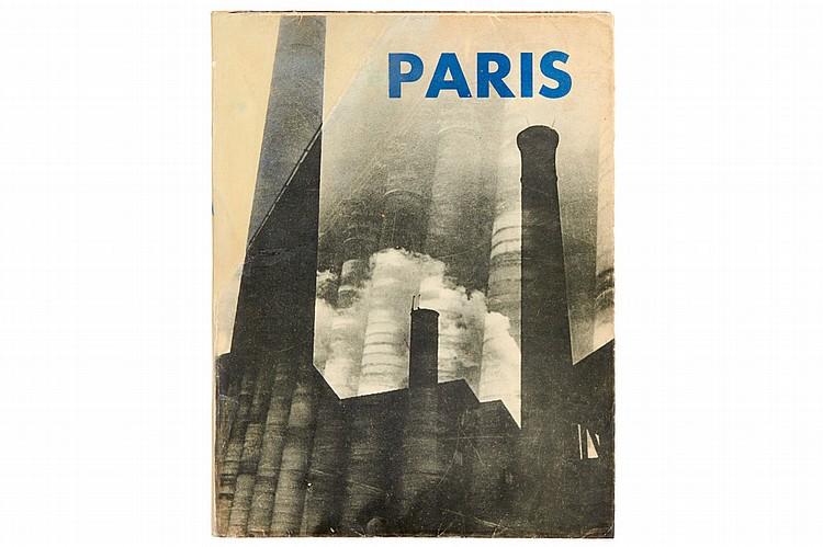'PARIS', Editions Jeanne Walter, Paris 1931