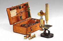 Carl Kellner (Bethle & Rexroth) Large Microscope, c.1861, no.478