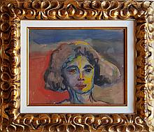 Emil Nolde watercolor on paper signed painting.