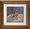 Francis BACON gouache on paper signed painting, Francis Bacon, $900