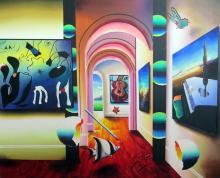 Ferjo, Acrylic on canvas Framed,