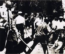 Andy Warhol Birmingham Race Riot (F&S II. 3), 1964 Screenprint on paper