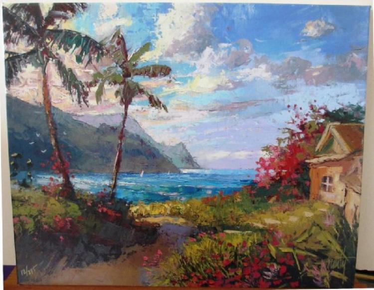 Steven Quartly Peaceful Shores HS/N Stretched Embellish