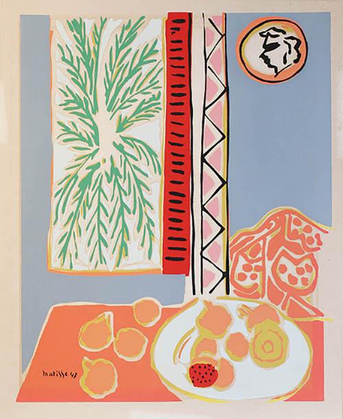 Henri Matisse After, 'Still Life with Pomegranates'