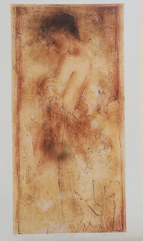 TREBY, JANET MYSTICAL LIGHT HS/N Serigraph