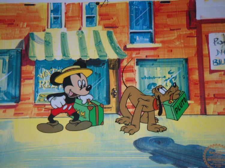 Disney Mickey Mouse Animation Sericel