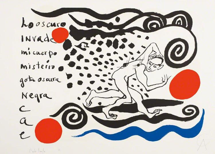 Alexander Calder & Carlos Franqui