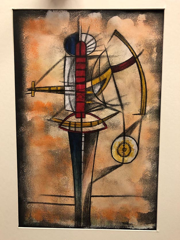 Rufino Tamayo (1899-1991 Mexican) Mix Media On Paper