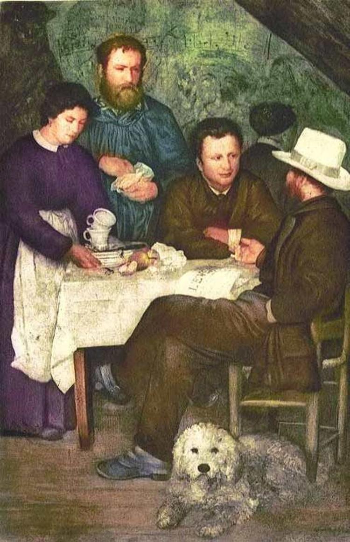 Renoir LA CABARET DE LA MERE ANTHONY – Etching Ambroise Vollard Estate