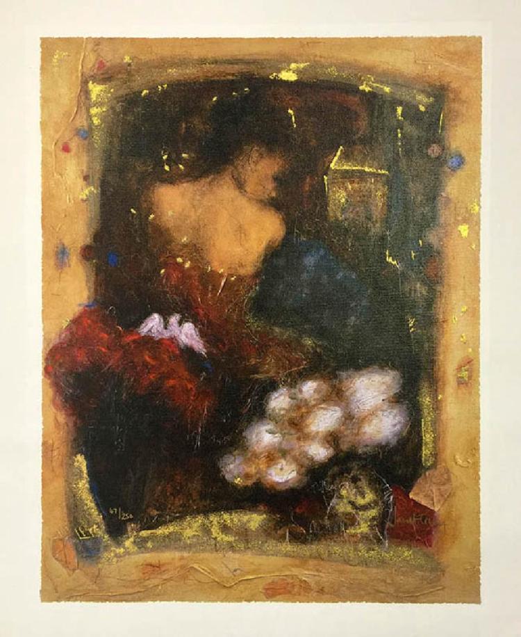 TREBY, JANET PARISIENNE TWILIGHT HS/N Serigraph