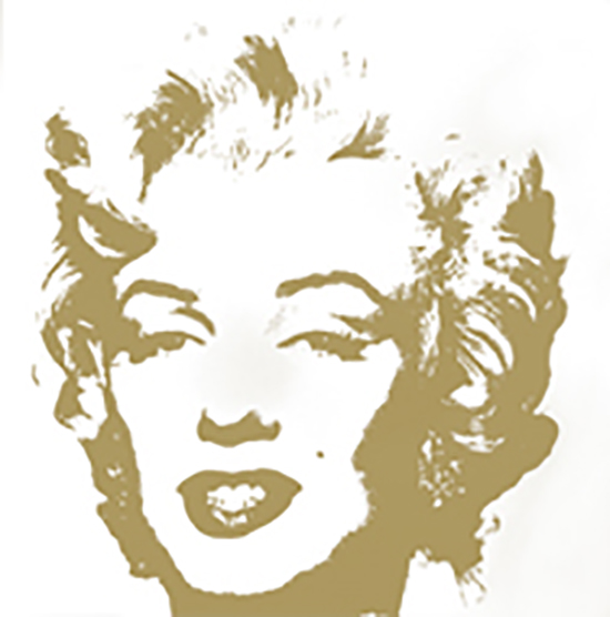 Andy Warhol Golden Marilyn 11.41 Sunday B Morning