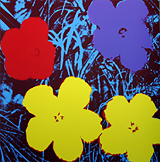 ANDY WARHOL FLOWERS 11.71 SERIGRAPH SUNDAY B. MORNING
