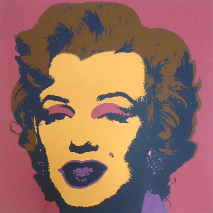 ANDY WARHOL MARILYN II.27 SUNDAY B. MORNING SCREENPRINT