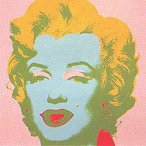 ANDY WARHOL MARILYN II.28 SUNDAY B. MORNING SCREENPRINT