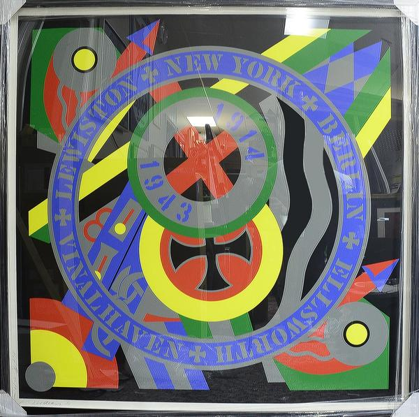 Robert INDIANA The hertley elegies-kvf x (the berlin