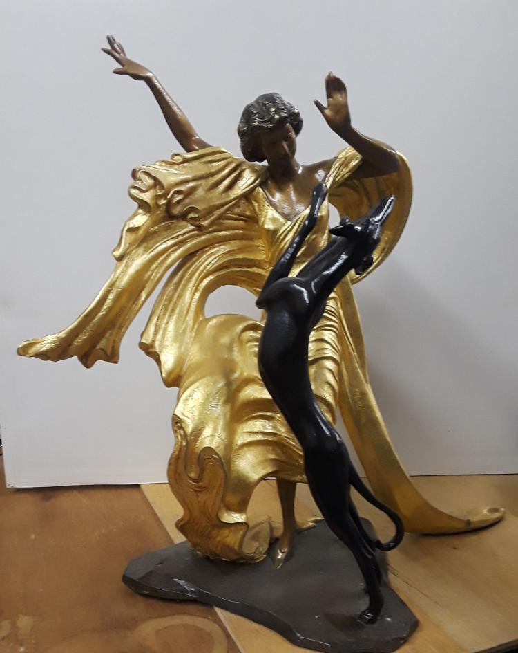 LOUIS ICART, Original bronze