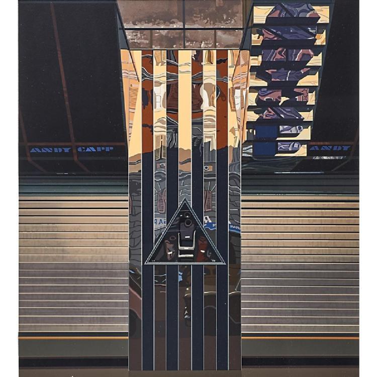 Richard Estes (American, b. 1932),