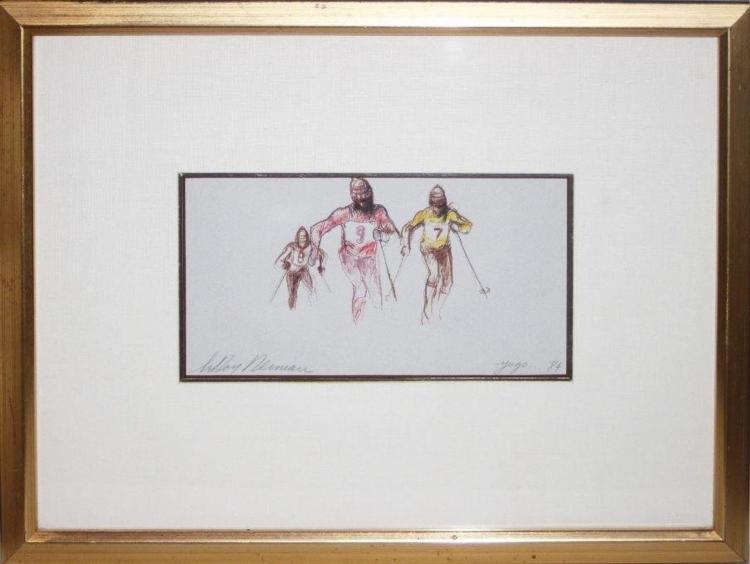 Leroy Neiman Framed Original