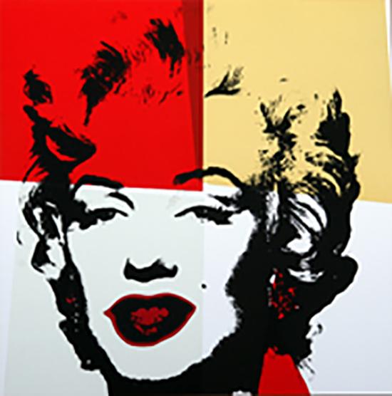 Andy Warhol Golden Marilyn 11.38 Sunday B Morning