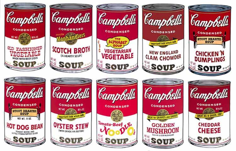 Andy Warhol Campbell Soup Sunday B Morning