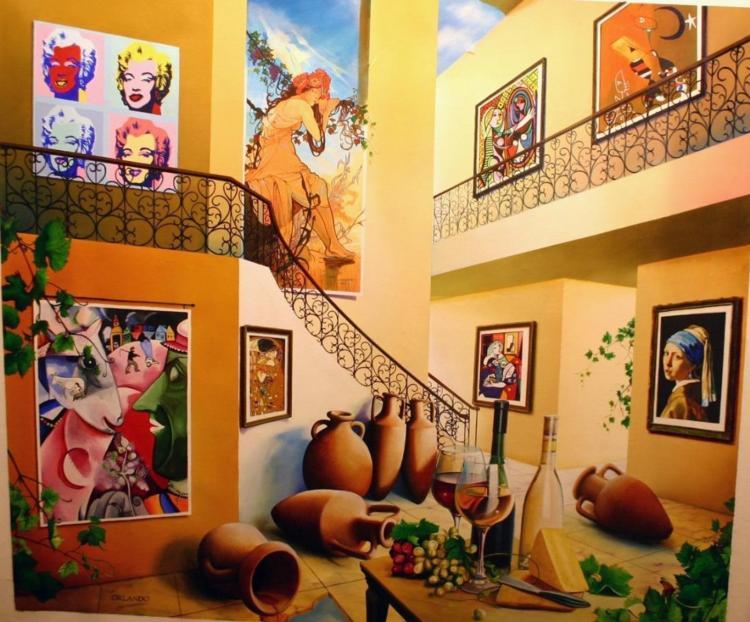 Orlando Original Canvas 42x50