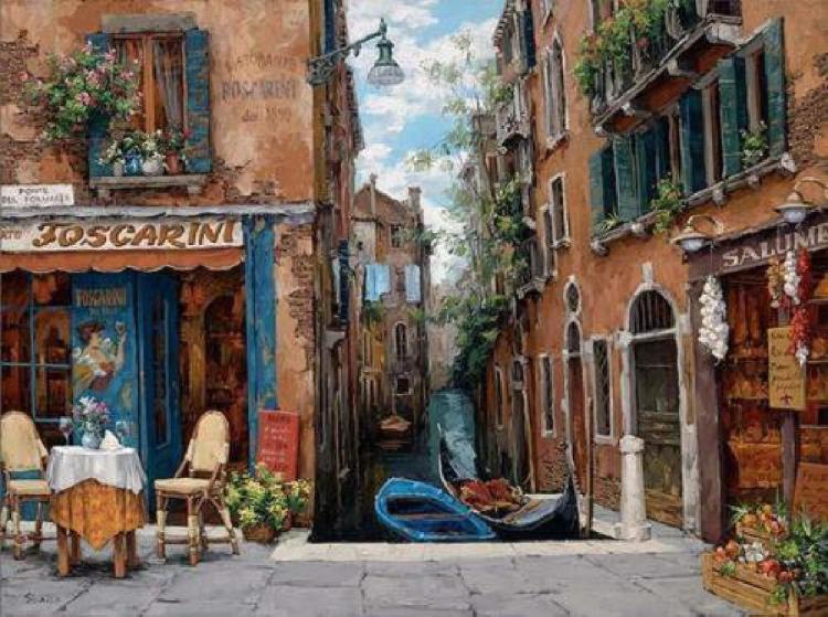 Viktor Shvaiko Venice in Bloom