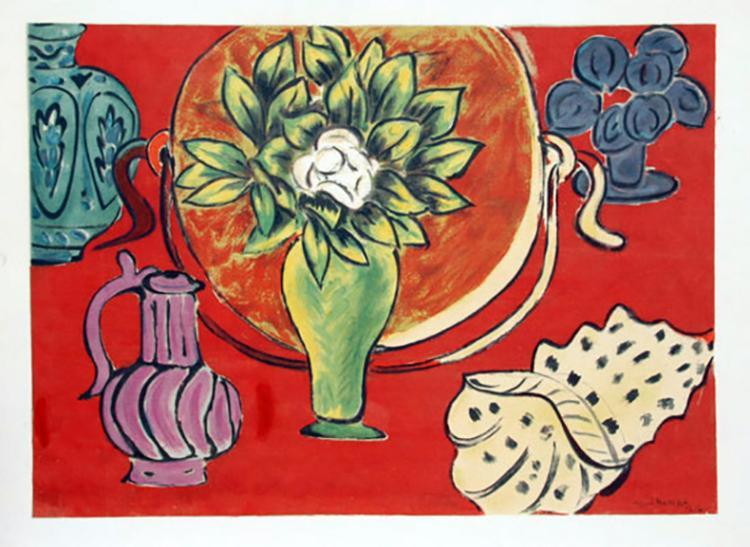 Henri Matisse After, 'Still Life with Pomegranates' Serigraph