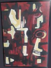 Hugo Consuegra (Cuban, 1929-2003) Oil On Canvas 1977