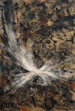 Leonardo Nierman, Abstract, Original Oil on Board 1960