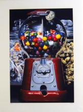 Charles Bell GUMBALL, color Giclee on thick paper