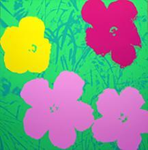 ANDY WARHOL FLOWERS 11.68 SERIGRAPH SUNDAY B. MORNING