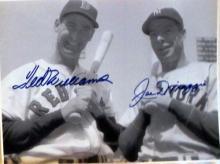 memorabilia Ted Williams and Joe DiMaggio Autogrpahed