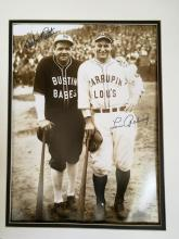 Babe Ruth & Lou Gehrig - Bustin Babes Faxsim. Signed