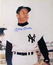memorabilia Hall of Fame Mickey Mantle Autographed