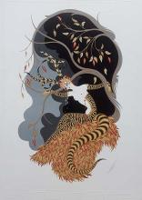 Erte, Hand signed lithograph