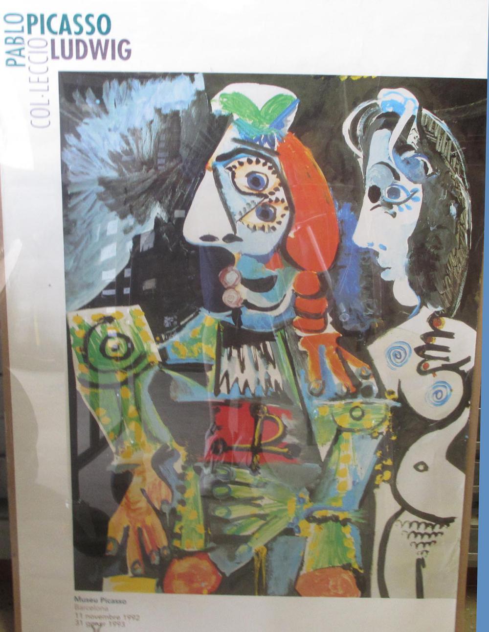 Pablo Picasso-Matador E Femme Nue-Poster