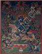A thangka of Shri Devi Dorje Rabtenma - 19TH CENTURY
