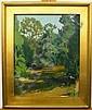 Ruthven Byrum 20x16 O/B Summer Creek, Ruthven Holmes Byrum, Click for value